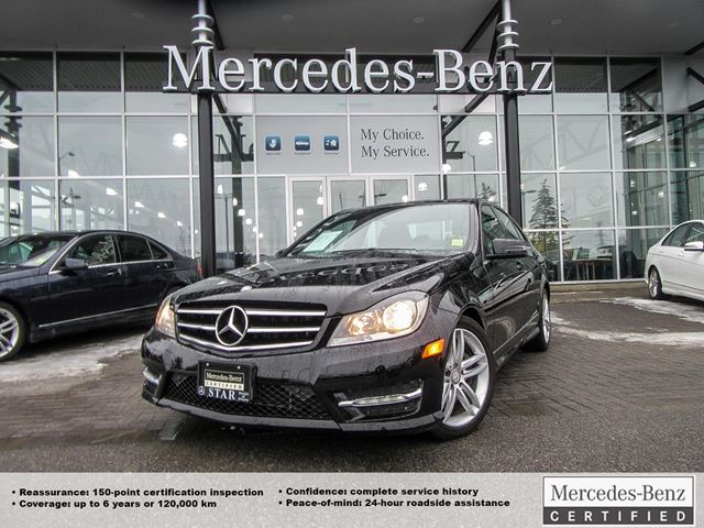 2014 mercedes benz c class c300 4matic sedan ottawa ontario used. Cars Review. Best American Auto & Cars Review