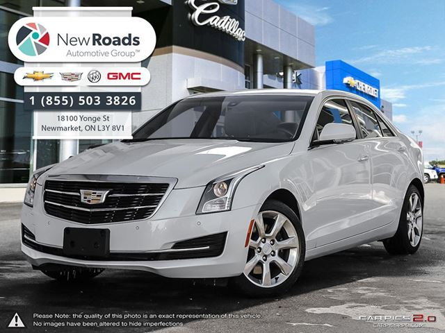 2016 cadillac ats 2 0l turbo luxury collection lux 2 0t awd lthr snrf cue newmarket. Black Bedroom Furniture Sets. Home Design Ideas