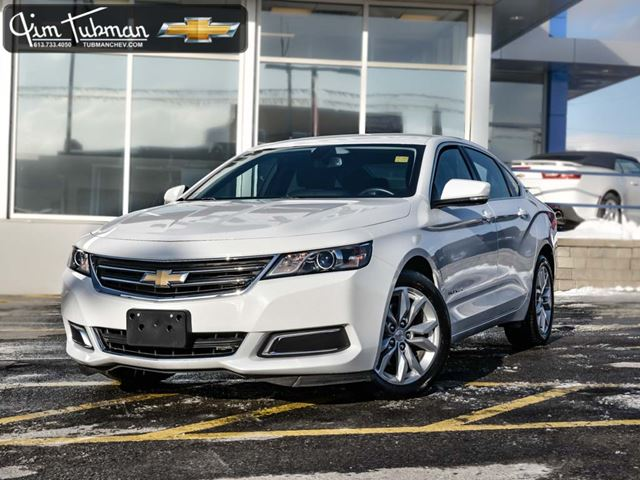 2016 chevrolet impala 2lt white jim tubman motors. Black Bedroom Furniture Sets. Home Design Ideas