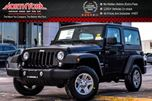 2017 Jeep Wrangler NEW Car Sport 4X4 Connect Pkg SatRadio A/C Cruise/Traction Cntrl  in Thornhill, Ontario