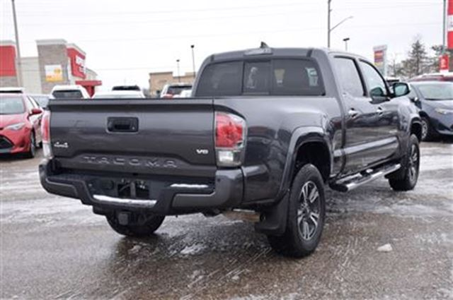 used 2016 toyota tacoma limited why buy new only 18kms georgetown. Black Bedroom Furniture Sets. Home Design Ideas