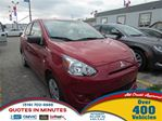 2015 Mitsubishi Mirage ES   ONE OWNER in London, Ontario