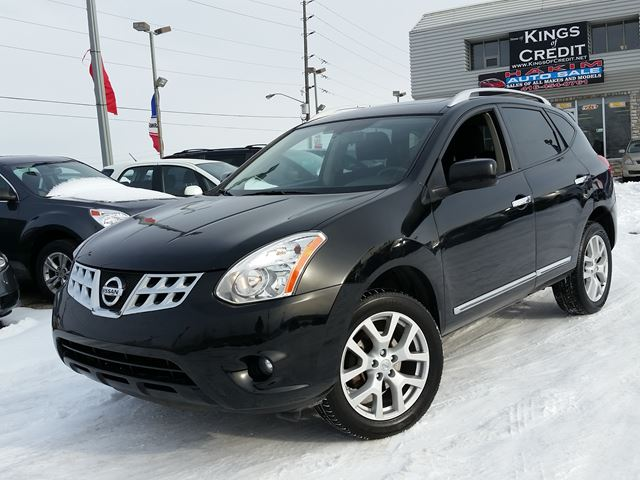2013 nissan rogue sv back up black hakim auto sale. Black Bedroom Furniture Sets. Home Design Ideas