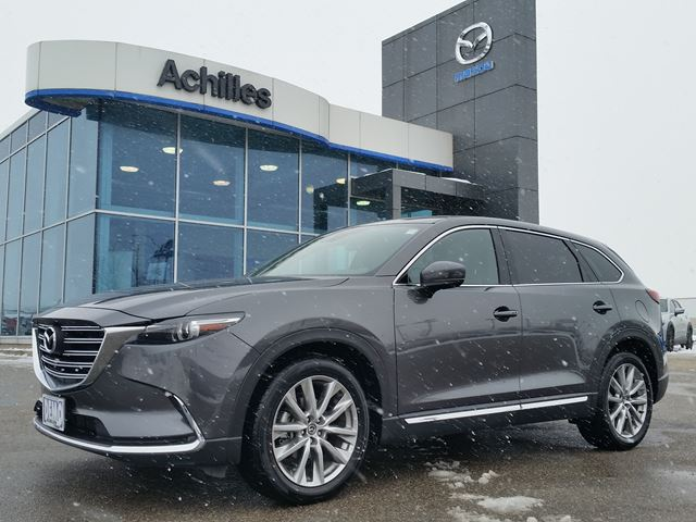 2016 mazda cx 9 demo gt awd leather milton ontario used car for sale 2661727. Black Bedroom Furniture Sets. Home Design Ideas