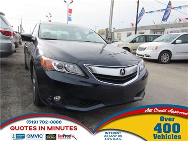 2013 ACURA ILX Premium Package   LEATHER   ROOF   ONE OWNER in London, Ontario