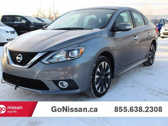 2016 nissan sentra 1 8 sr 4dr sedan grey go nissan. Black Bedroom Furniture Sets. Home Design Ideas