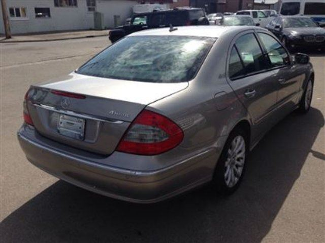 2008 mercedes benz e class 3 0l awd w navigation leather heated seats calgary alberta used. Black Bedroom Furniture Sets. Home Design Ideas