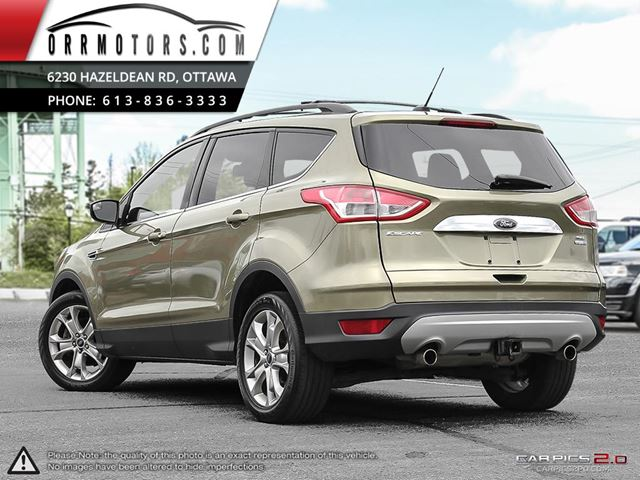 2013 ford escape sel stittsville ontario used car for sale 2662165. Black Bedroom Furniture Sets. Home Design Ideas