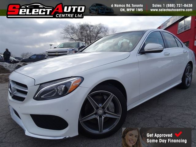 2015 mercedes benz c class c300 4matic red interior for 2015 mercedes benz c300 4matic