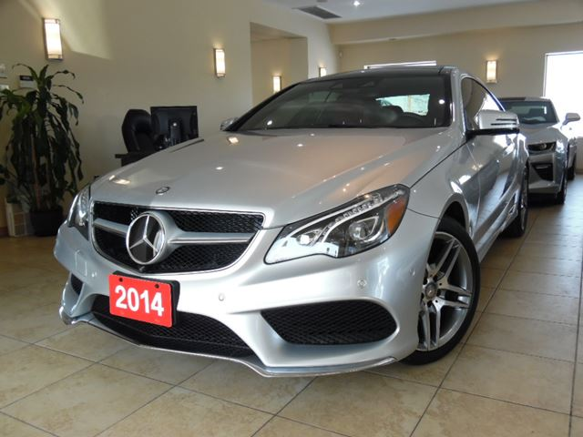 2014 mercedes benz e class e350 4matic amg distronic for Mercedes benz ontario dealers