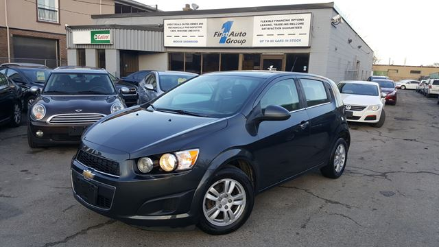 2014 chevrolet sonic lt etobicoke ontario used car for. Black Bedroom Furniture Sets. Home Design Ideas