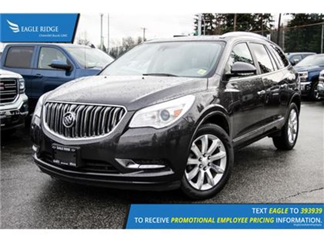 2014 BUICK ENCLAVE Premium Navigation, Sunroof, and Heated Seats Navi in Coquitlam, British Columbia