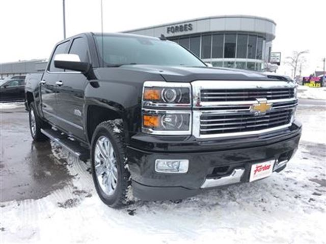 2015 chevrolet silverado 1500 high country navigation bose leather waterloo ontario used. Black Bedroom Furniture Sets. Home Design Ideas