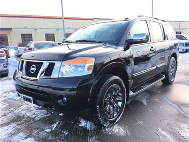 2015 nissan armada platinum reserve edition 7 passenger waterloo ontario used car for sale. Black Bedroom Furniture Sets. Home Design Ideas