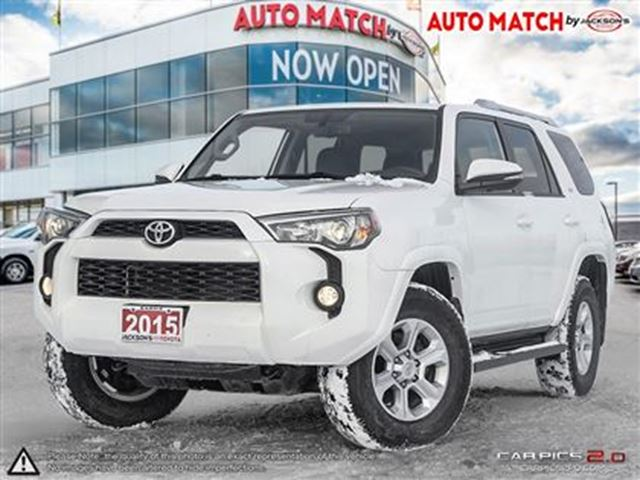 2015 toyota 4runner sr5 v6 barrie ontario used car for sale 2663522. Black Bedroom Furniture Sets. Home Design Ideas