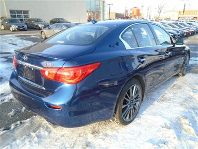 2016 infiniti q50 red sport 400hp tech pkg demo sale mississauga ontario used car for sale. Black Bedroom Furniture Sets. Home Design Ideas