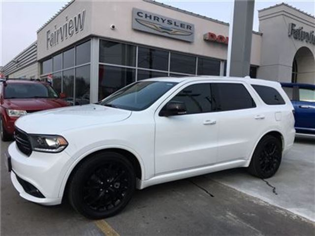 2016 dodge durango r t rare black top edition white. Black Bedroom Furniture Sets. Home Design Ideas