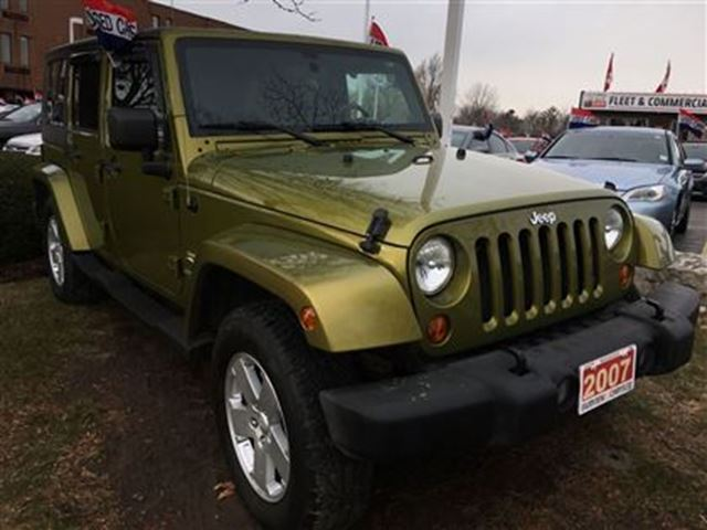 2007 jeep wrangler unlimited sahara burlington ontario used car for. Cars Review. Best American Auto & Cars Review