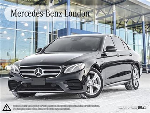Used 2017 mercedes benz e300 4matic sedan intelligent for Mercedes benz london
