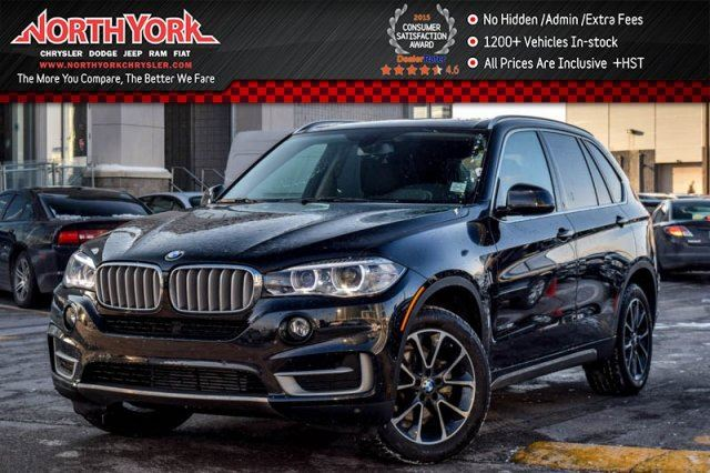 2016 bmw x5 xdrive35i panosunroof nav hud htdseats rearcam parksensors 19alloys thornhill. Black Bedroom Furniture Sets. Home Design Ideas