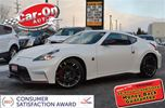 2015 Nissan 370Z NISMO 350 HP PEARL WHITE w/NAVIGATION in Ottawa, Ontario