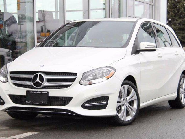 2015 Mercedes-Benz B-Class Certified | Sport Tourer | All-Wheel-Drive | Premium Package | Sail Pattern Trim in Kamloops, British Columbia