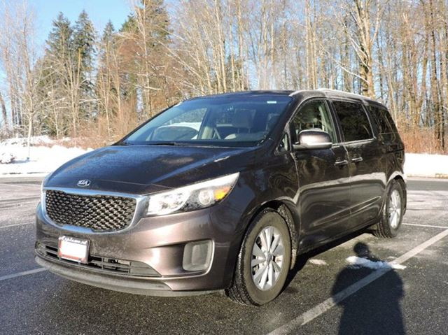2016 kia sedona lx passenger van surrey british columbia used car for sale 2663786. Black Bedroom Furniture Sets. Home Design Ideas