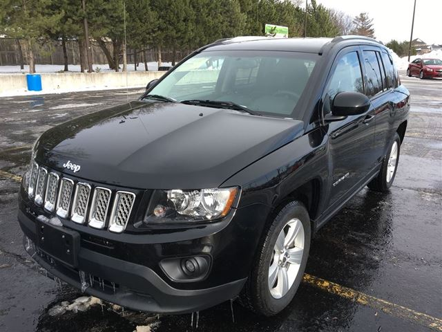 2014 jeep compass north cayuga ontario used car for sale 2664018. Black Bedroom Furniture Sets. Home Design Ideas