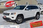 2016 Jeep Grand Cherokee LIMITED w/ LEATHER  + SUNROOF in Ottawa, Ontario