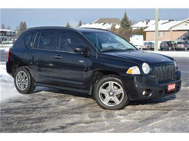 2008 jeep compass north 4x4 ottawa ontario used car for sale 2664648. Black Bedroom Furniture Sets. Home Design Ideas
