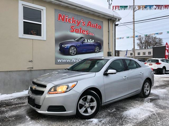 2013 CHEVROLET Malibu LS, ACCIDENT FREE, ALLOY WHEELS, PWR GROUP, LOADED! $0 DOWN $89 BI-WEEKLY! in Ottawa, Ontario