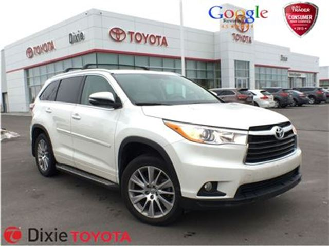 2015 Toyota Highlander XLE - Mississauga, Ontario Used Car For Sale ...