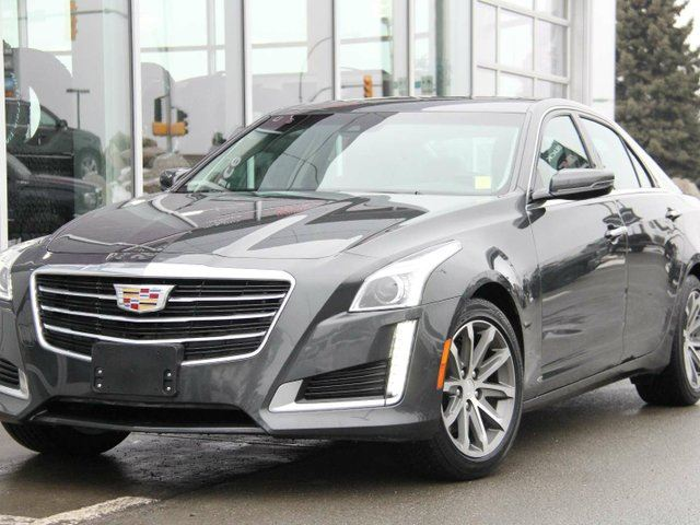 2016 CADILLAC CTS Certified | All-Wheel-Drive | Intellibeam Headlamps | Navigation | Heated Steering Wheel | HID Headlamps in Kamloops, British Columbia
