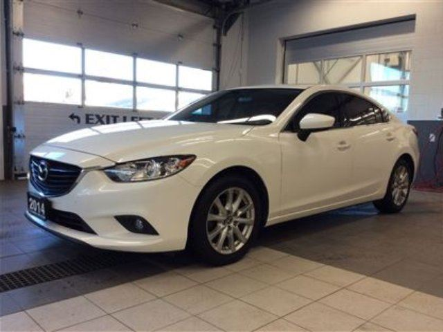 2014 mazda mazda6 gs one owner nonsmoker mint thunder bay ontario used car for sale. Black Bedroom Furniture Sets. Home Design Ideas