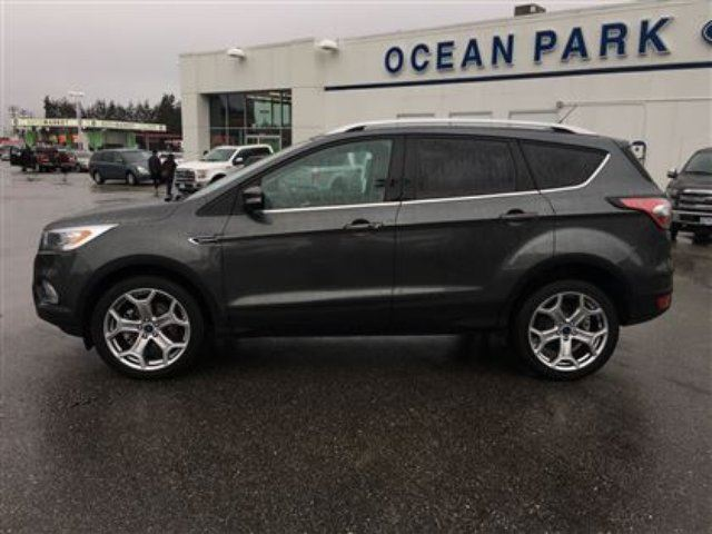 used 2017 ford escape titanium 4wd 2 0l ecoboost. Black Bedroom Furniture Sets. Home Design Ideas