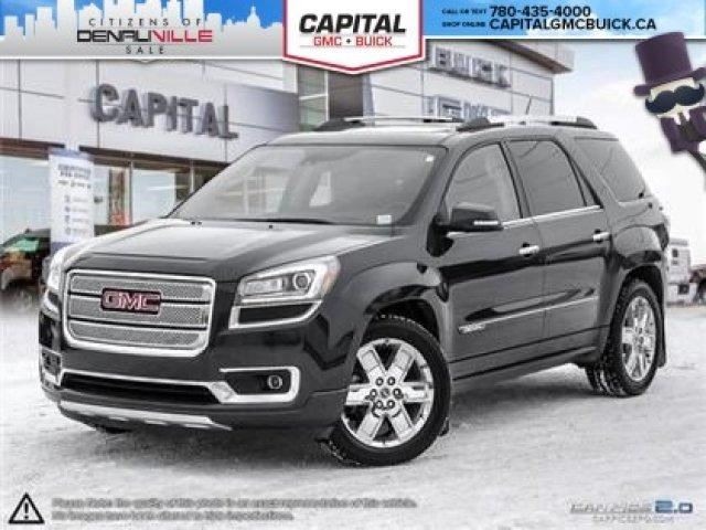2014 gmc acadia denali edmonton alberta used car for sale 2665885. Black Bedroom Furniture Sets. Home Design Ideas