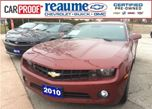 2010 Chevrolet Camaro 2LT in Windsor, Ontario