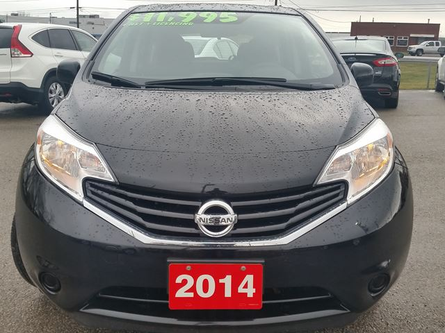 2014 nissan versa sv note beamsville ontario used car. Black Bedroom Furniture Sets. Home Design Ideas