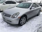 2004 Infiniti G35 Luxury, Automatic, Leather, Sunroof, AWD in Burlington, Ontario