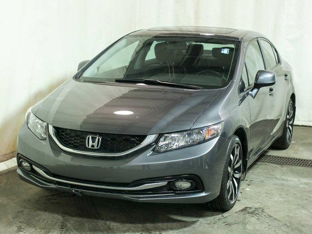 2013 honda civic touring sedan extended warranty leather