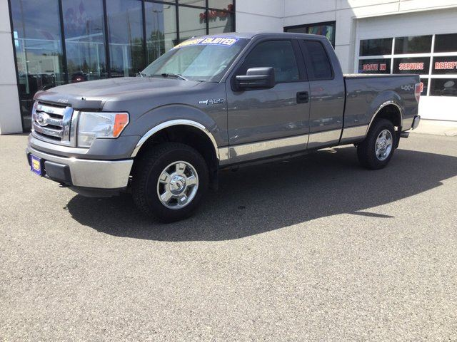2012 ford f 150 xlt 4x4 super cab 6 5 ft box 145 in wb grey wood wheaton gm supercentre. Black Bedroom Furniture Sets. Home Design Ideas