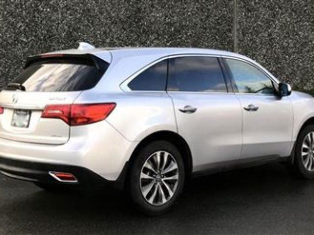 2015 acura mdx navigation at north vancouver british columbia used car for sale 2666396. Black Bedroom Furniture Sets. Home Design Ideas
