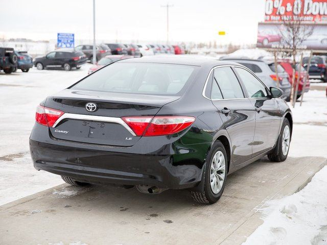2015 toyota camry le red deer county alberta used car for sale. Black Bedroom Furniture Sets. Home Design Ideas