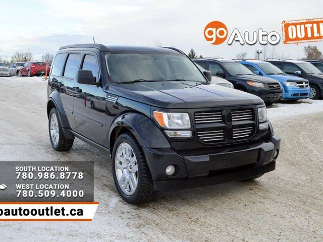 2008 dodge nitro slt rt black go auto outlet. Black Bedroom Furniture Sets. Home Design Ideas