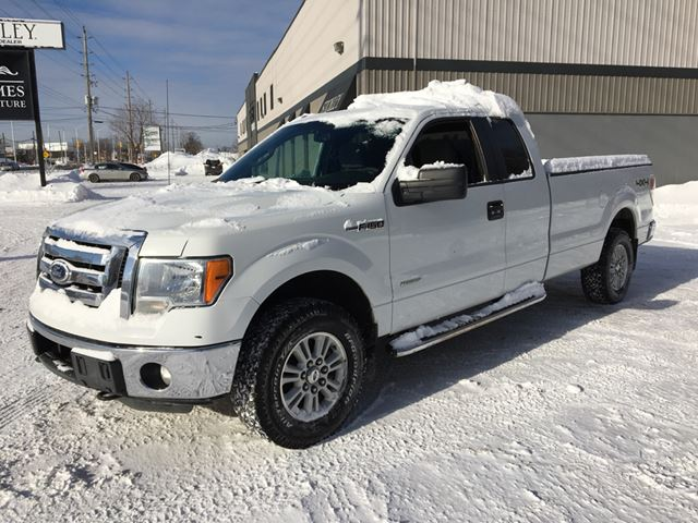 2011 ford f 150 xlt supercab 4x4 hd payload pkg ottawa ontario used car for sale 2666312. Black Bedroom Furniture Sets. Home Design Ideas