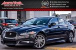 2014 Jaguar XF  AWD CleanCarProof Sunroof Nav RearCam HtdFrontSeats KeylessGo 19Alloys  in Thornhill, Ontario