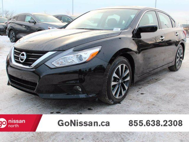 2016 nissan altima 2 5 sv 4dr sedan black go nissan. Black Bedroom Furniture Sets. Home Design Ideas