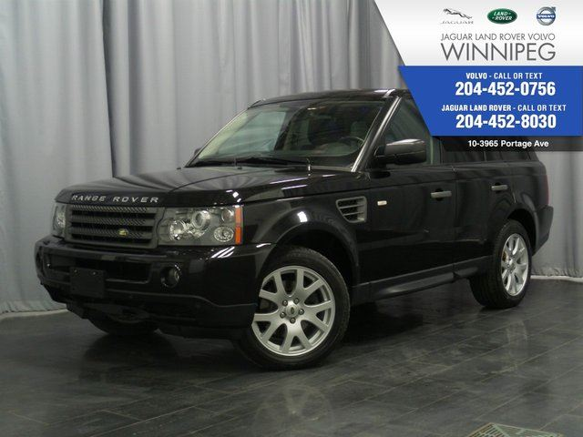 2009 LAND ROVER RANGE ROVER Sport HSE Local and Gorgeous! in Winnipeg, Manitoba