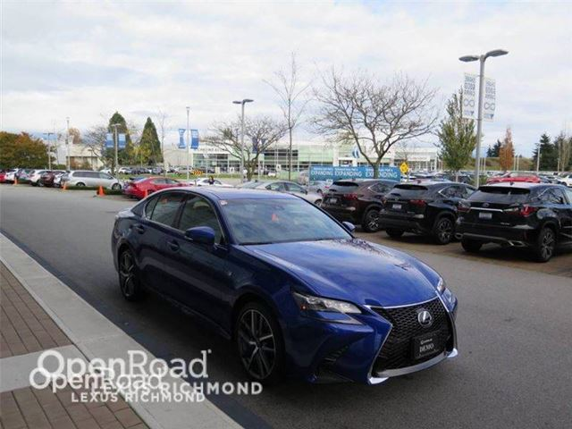 2016 lexus gs 350 f sport series 2 richmond british columbia used car for sale 2666899. Black Bedroom Furniture Sets. Home Design Ideas