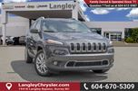 2015 Jeep Cherokee Limited LOCALLY DRIVEN, ONE OWNER & ACCIDENT FREE in Surrey, British Columbia